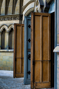 Open Doors  The Beautiful wooden doors of Christ Church Cathedral
