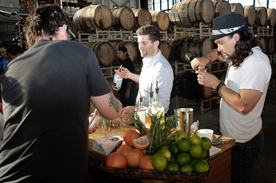 St. Georges Spirits Bathtub Gin BBQ