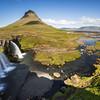 Snaefellsnes Peninsula - Magická hora Kirkjufell a vodopád Kirkjufellsfoss.