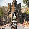 Komplex Angkor Thom - vjezdová brány