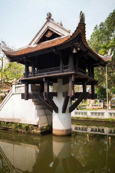Pagoda na jednom pilíři (Chua Mot Cot)
