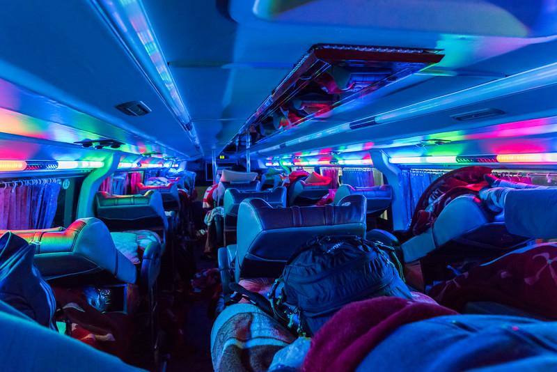 Vietnam - sleeping bus