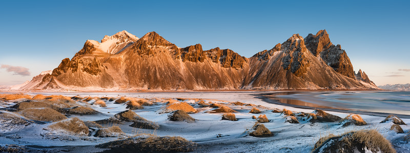 Vestrahorn Iceland at Stokksnes I.