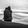 Skalní útvar na Reynisfjara Beach