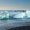 Ledovce u jezera Jökulsárlón