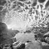Eiskapelle - Crystal Ice Cave in glacier Germany, Königssee