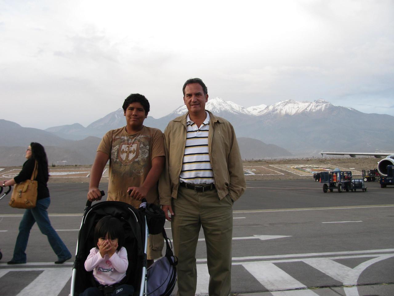 Arrivando en Arequipa.<br /> <br /> Arriving in Arequipa.