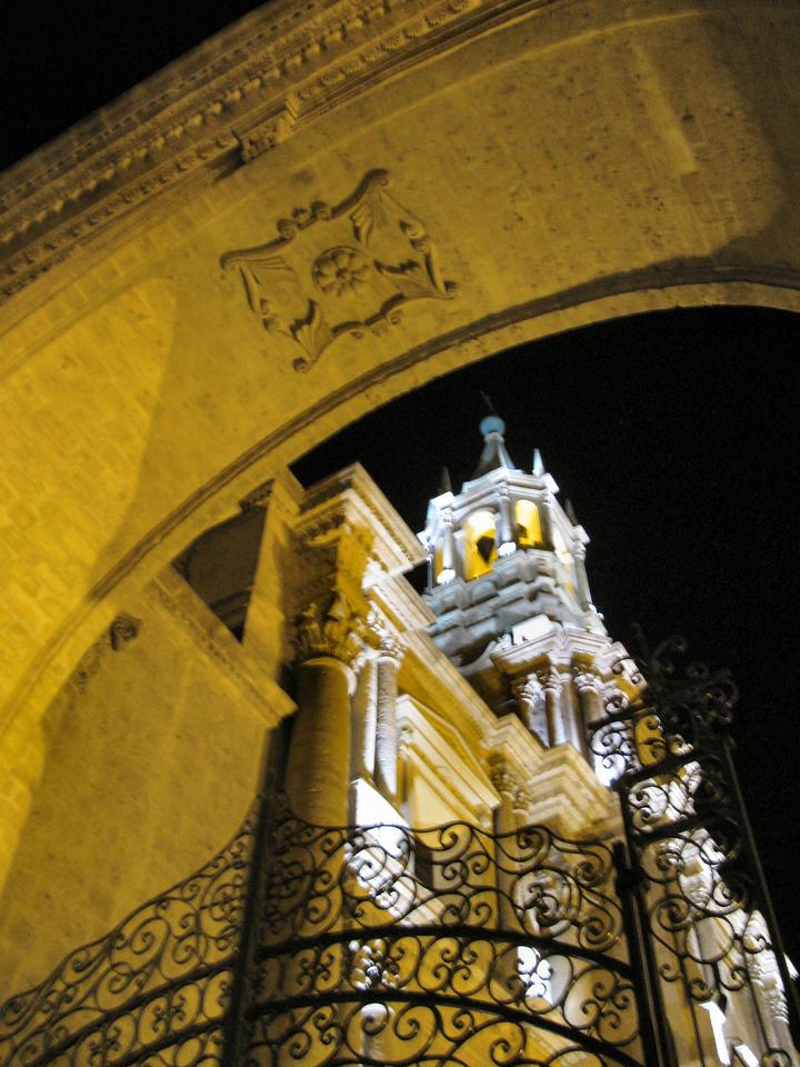 Detalle de la columna de la Basilica.<br /> <br /> Detail of the column in the Basilica.