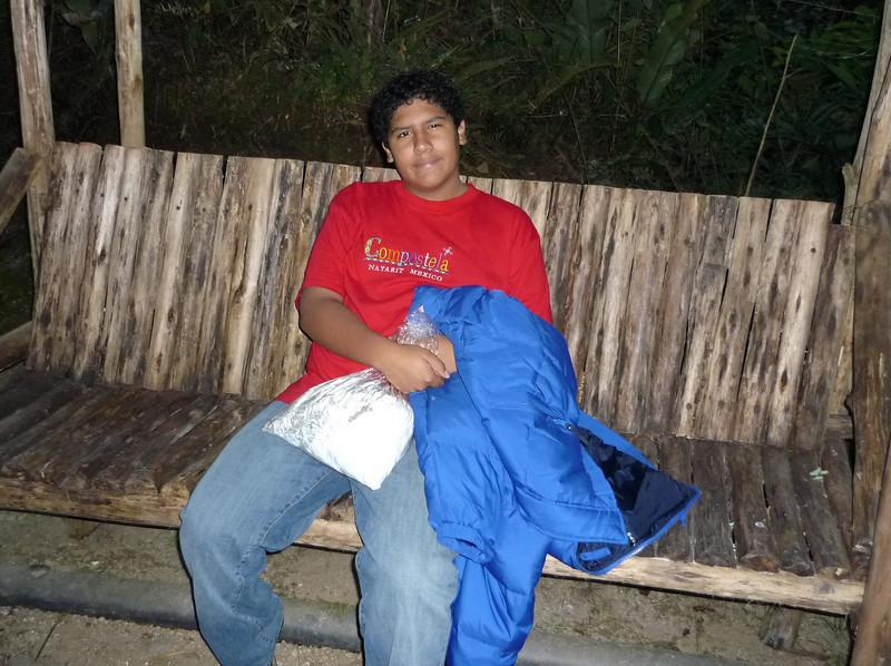 Descansando en Aguascalientes.