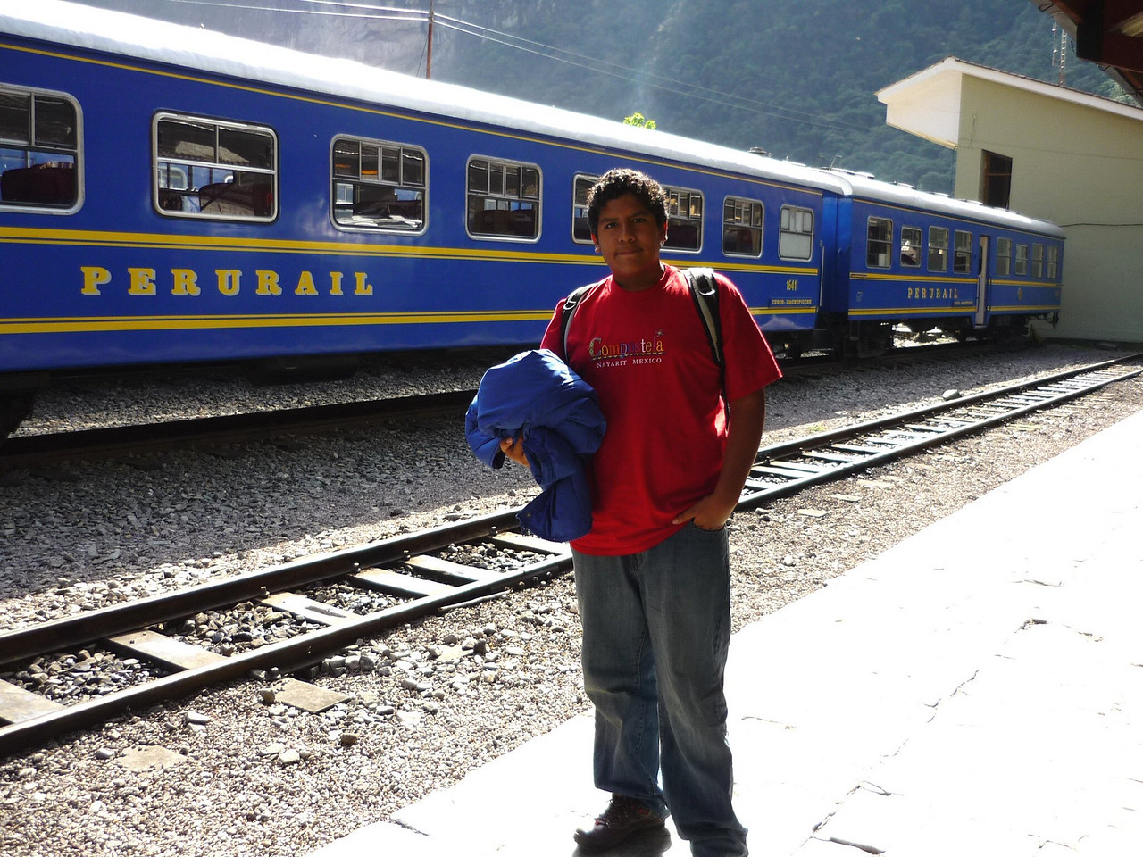 Estacion de trenes de Aguascalientes.