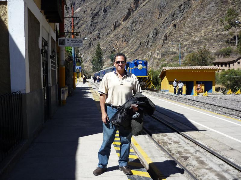 estacion de trenes de Ollantaytambo