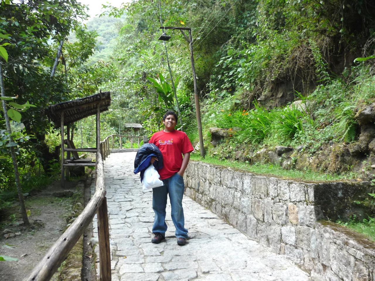 Camino a los banos termales de Aguascalientes.