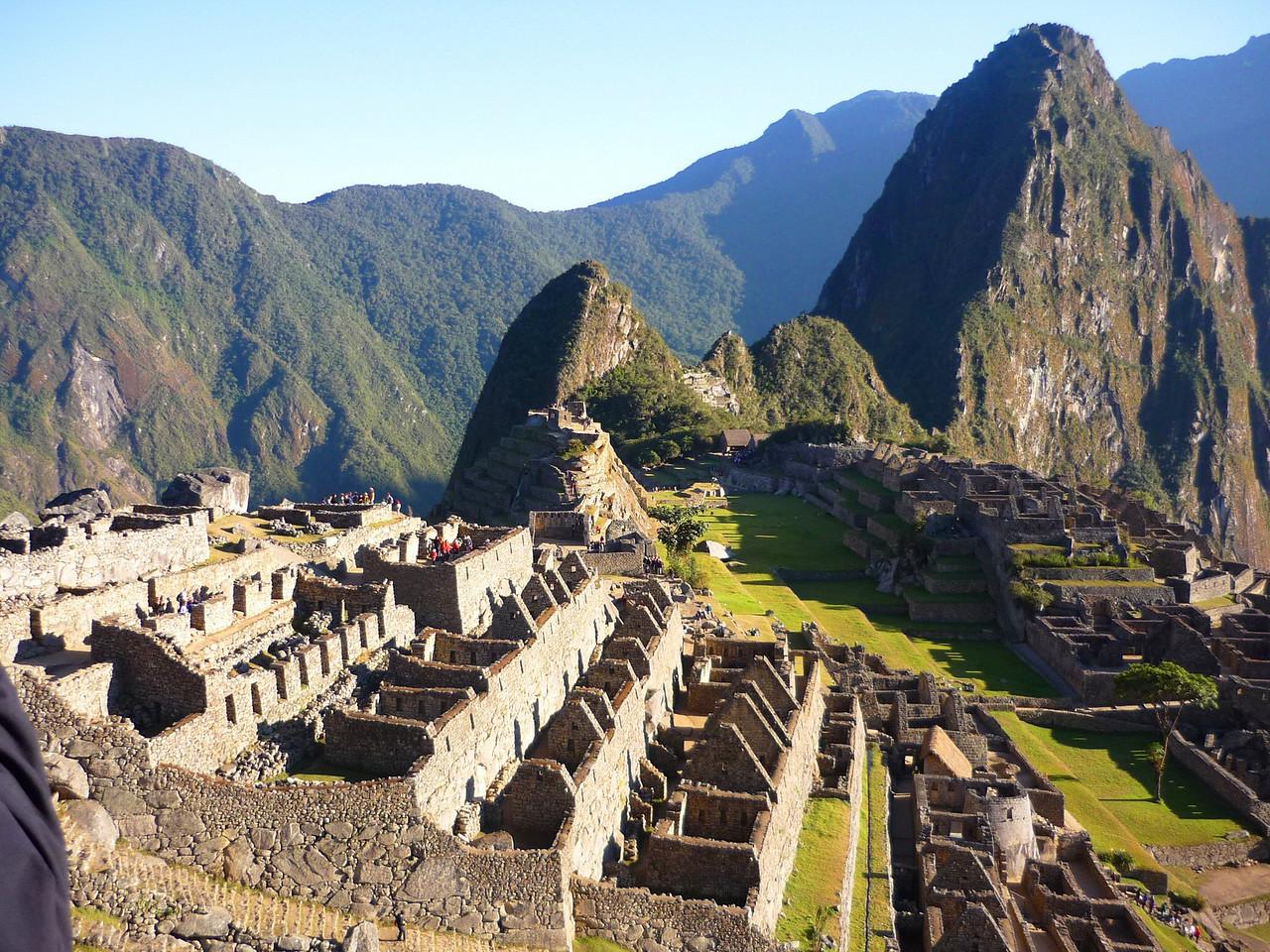 En el fondo el famoso Huayna Pichu!!!