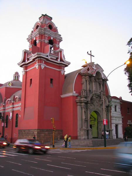 Church in Barranco.<br /> Iglesia en Barranco.