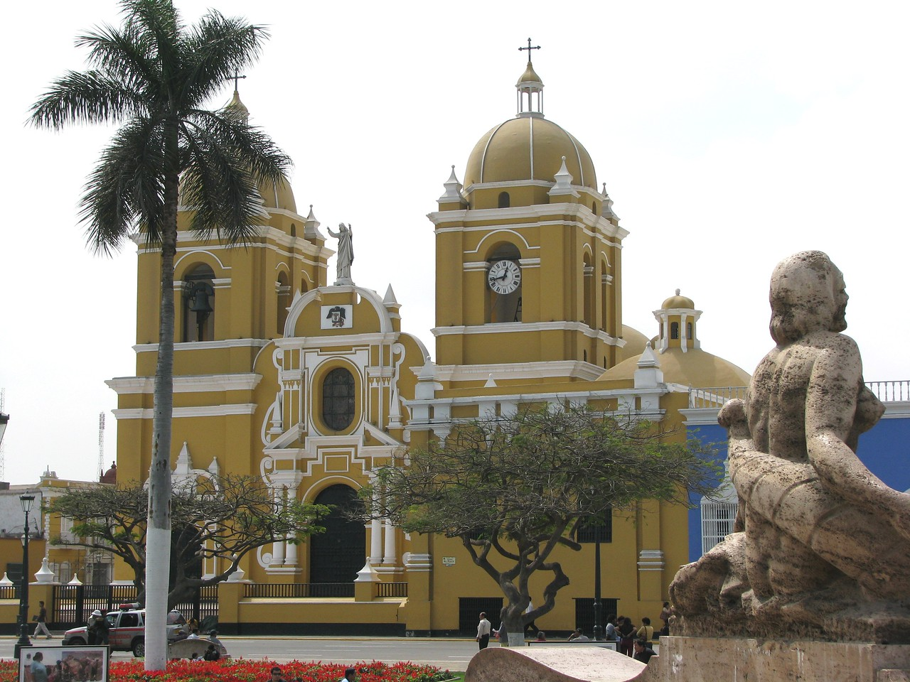 The Cathedral of Trujillo.<br /> La Catedral de Trujillo.