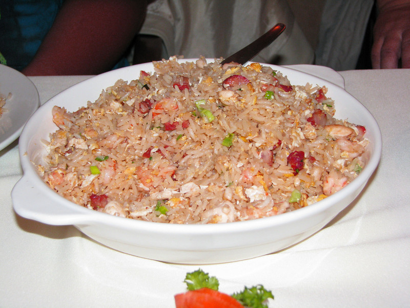 Fried rice special.<br /> <br /> Arroz chaufa especial.