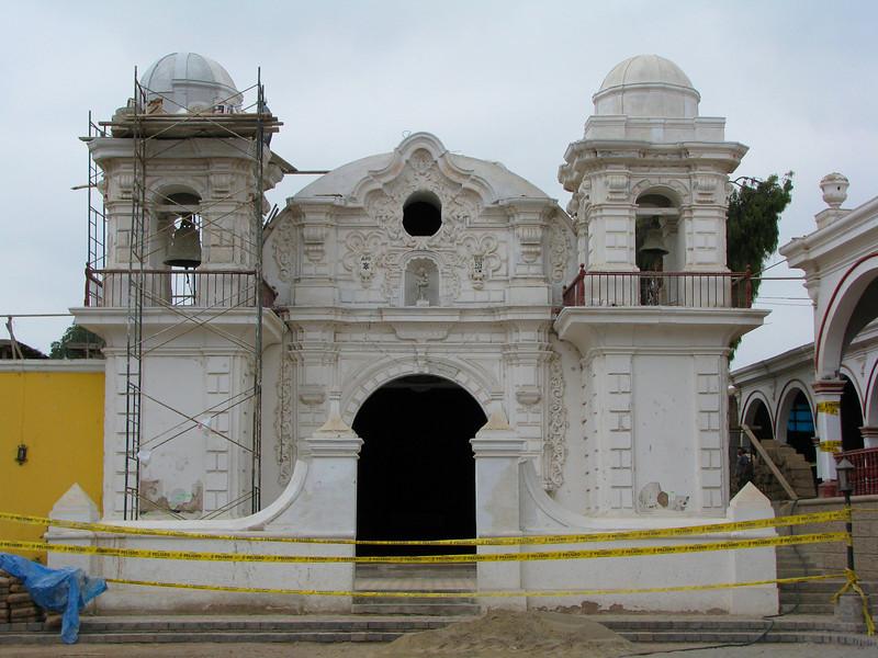 Chapel of the Hacienda San Jose.<br /> Chapilla de la Hacienda San Jose.