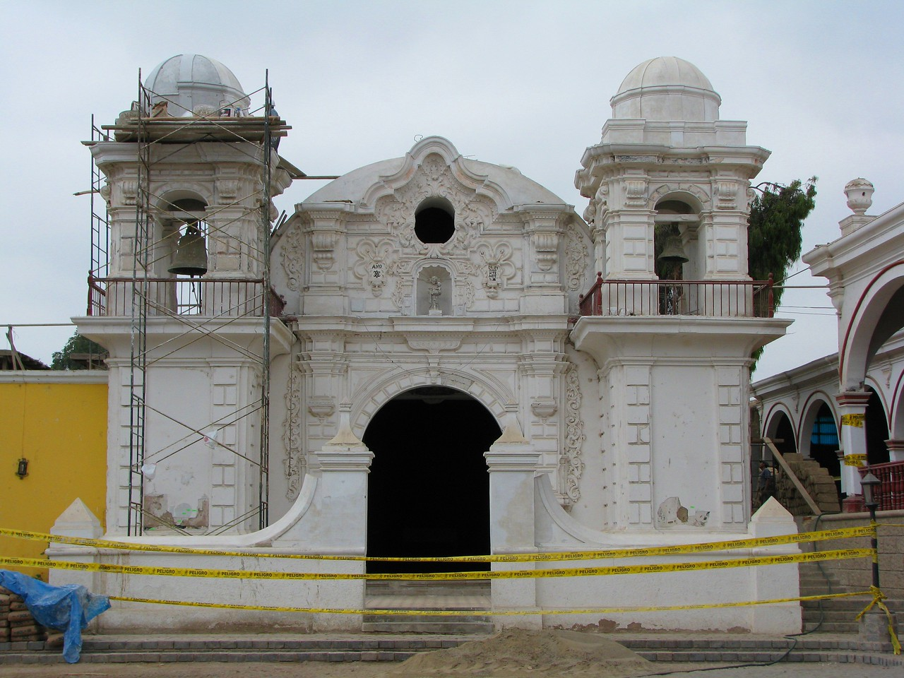 Chapel of the Hacienda San Jose.<br /> Chapilla de la Hacienda San Jose.