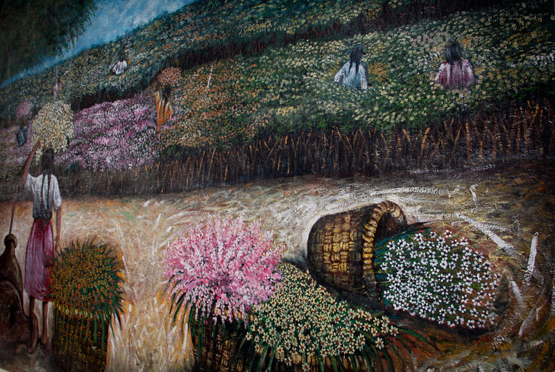 Mural en la ciudad de Piura
