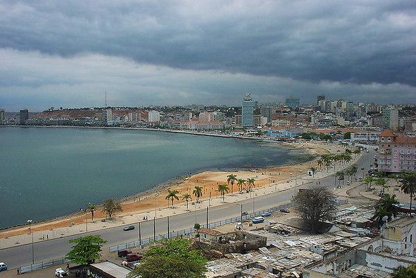 Bahia de Luanda, Angola.