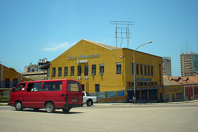 The Casa Americana store in Luanda downtown