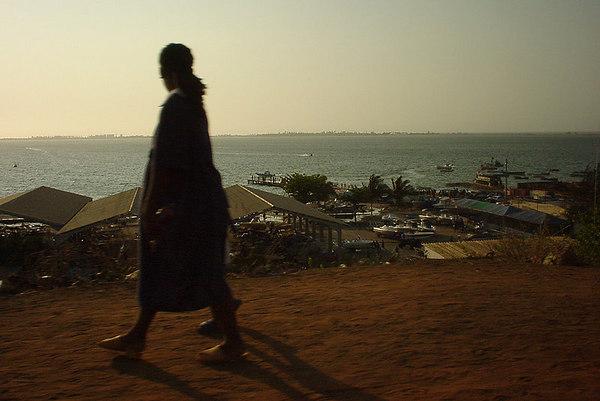 Km14 harbour, Luanda, Angola