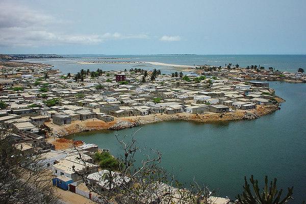 Musseque (shanty town) de Luanda, Angola