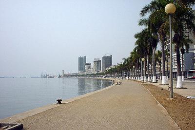 Luanda bay, Angola.