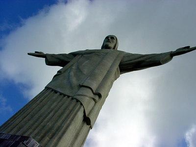 O Corcovado, Rio de Janeiro, Brazil.