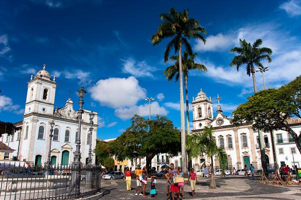 Pelourinho, Salvador de Bahia, Brazil.