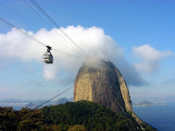 """The """"Pão de Açucar"""" (Sugarloaf), Rio de Janeiro, Brazil."""
