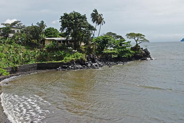 Limbe coastline, Littoral, Cameroon.