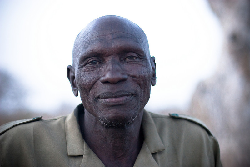 Ranger from the Waza park, Extreme-North, Cameroon.