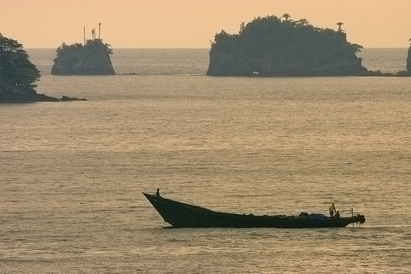 Fisherman, Limbe, West coast, Cameroon.