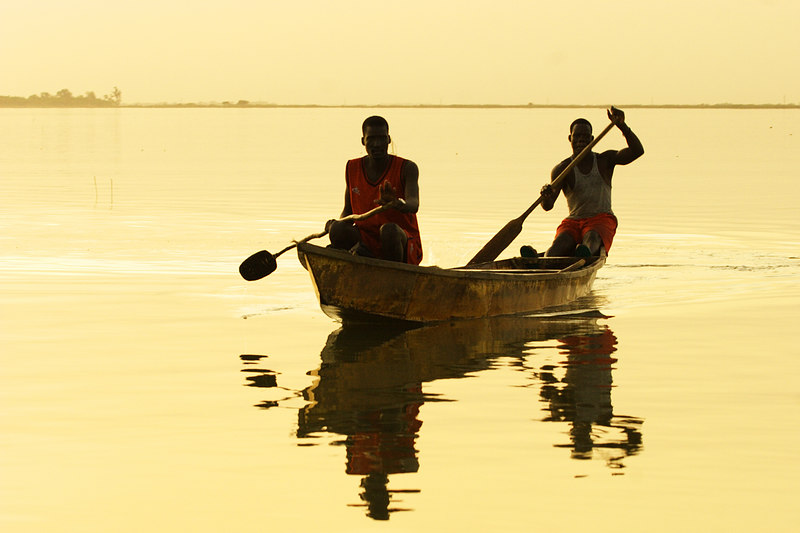 Mousgoum fishermen, Maga, Extreme-North, Cameroon.