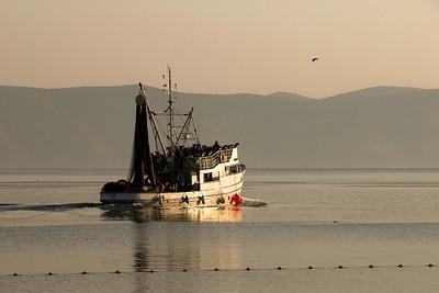 Fishing boat from Hvar island, Croatia.