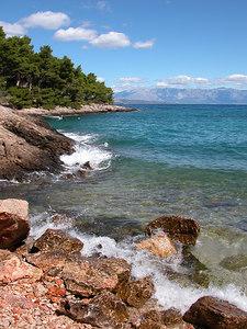 Hvar island, Dalmatian coast, Croatia.