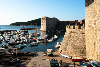 Dubrovnik harbour, Croatia.