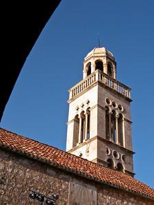 Dubrovnik church, Croatia.