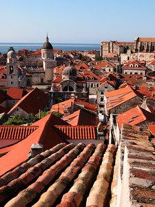 Dubrovnik roofs, Croatia.