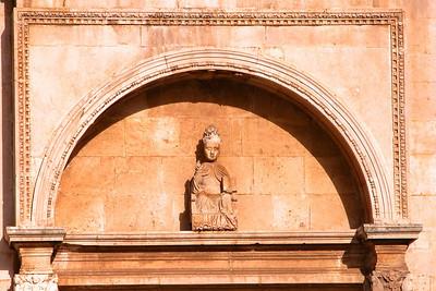 Dubrovnik detail, Croatia.