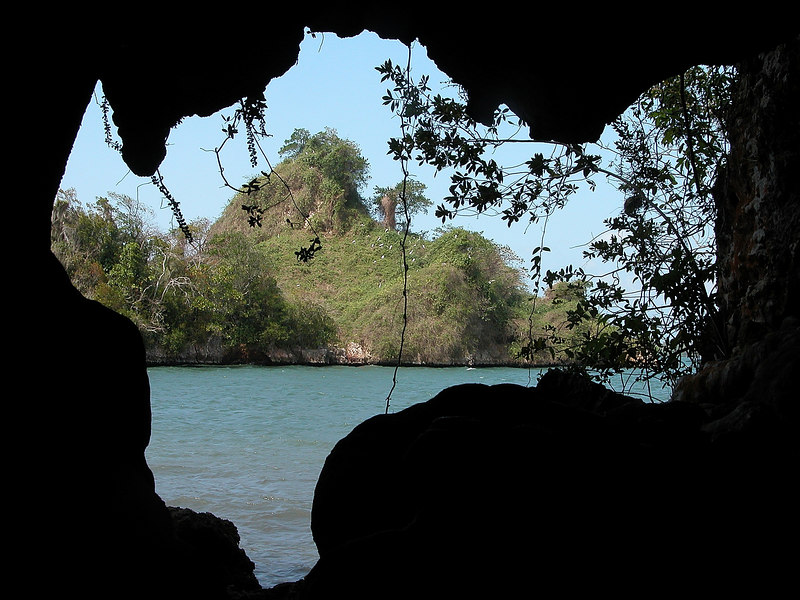 """Mogotes from """"Los Haitises"""" Natural park, Dominican Republic."""