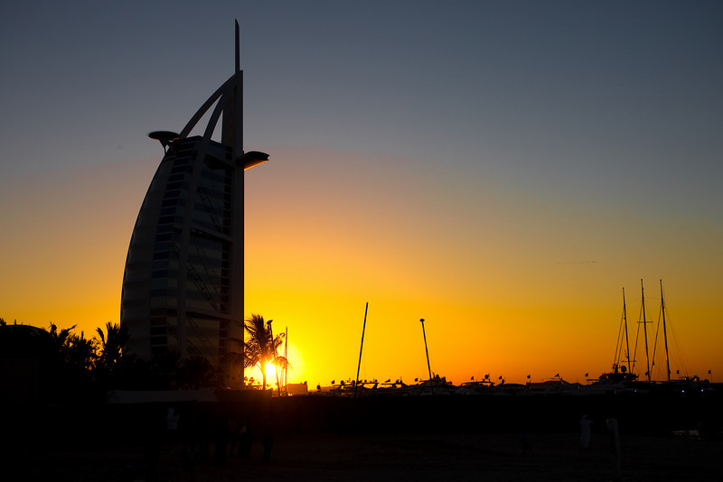 Burj Al Arab tower, Dubai, UAE.