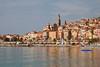 Menton, Cote d'Azur, France.