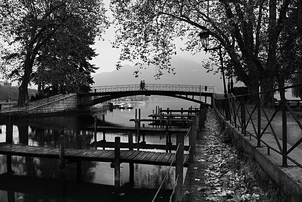 Pont des Amours, Annecy, France.