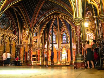 Sainte-Chapelle, Paris, France.