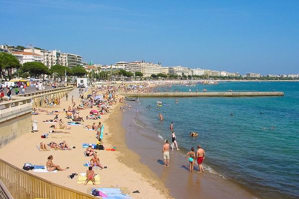 Cannes, Cote d'Azur, France.