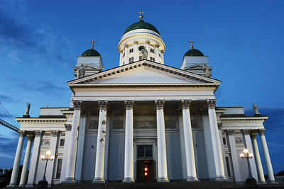Cathedral, Helsinki, Finland.