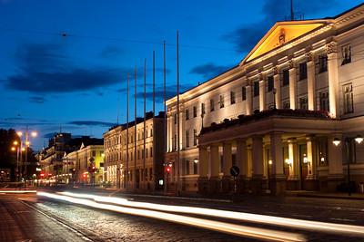 Helsinki downtown, Finland.