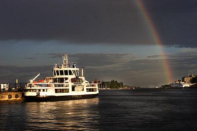 Helsinki harbour, Finland.